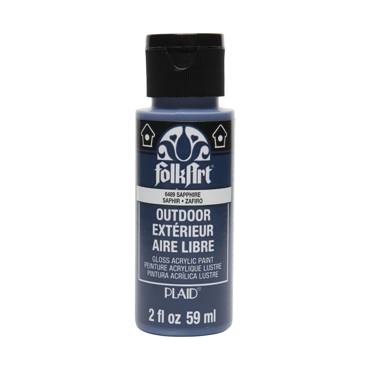 FolkArt ® Outdoor™ Acrylic Colors - Sapphire, 2 oz.