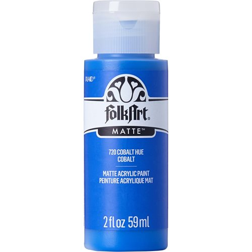FolkArt ® Acrylic Colors - Cobalt Blue, 2 oz. - 720