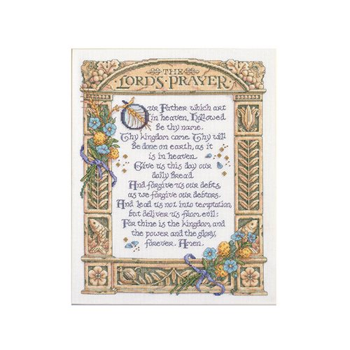 Bucilla ® Counted Cross Stitch - Picture Kits - The Lord's Prayer