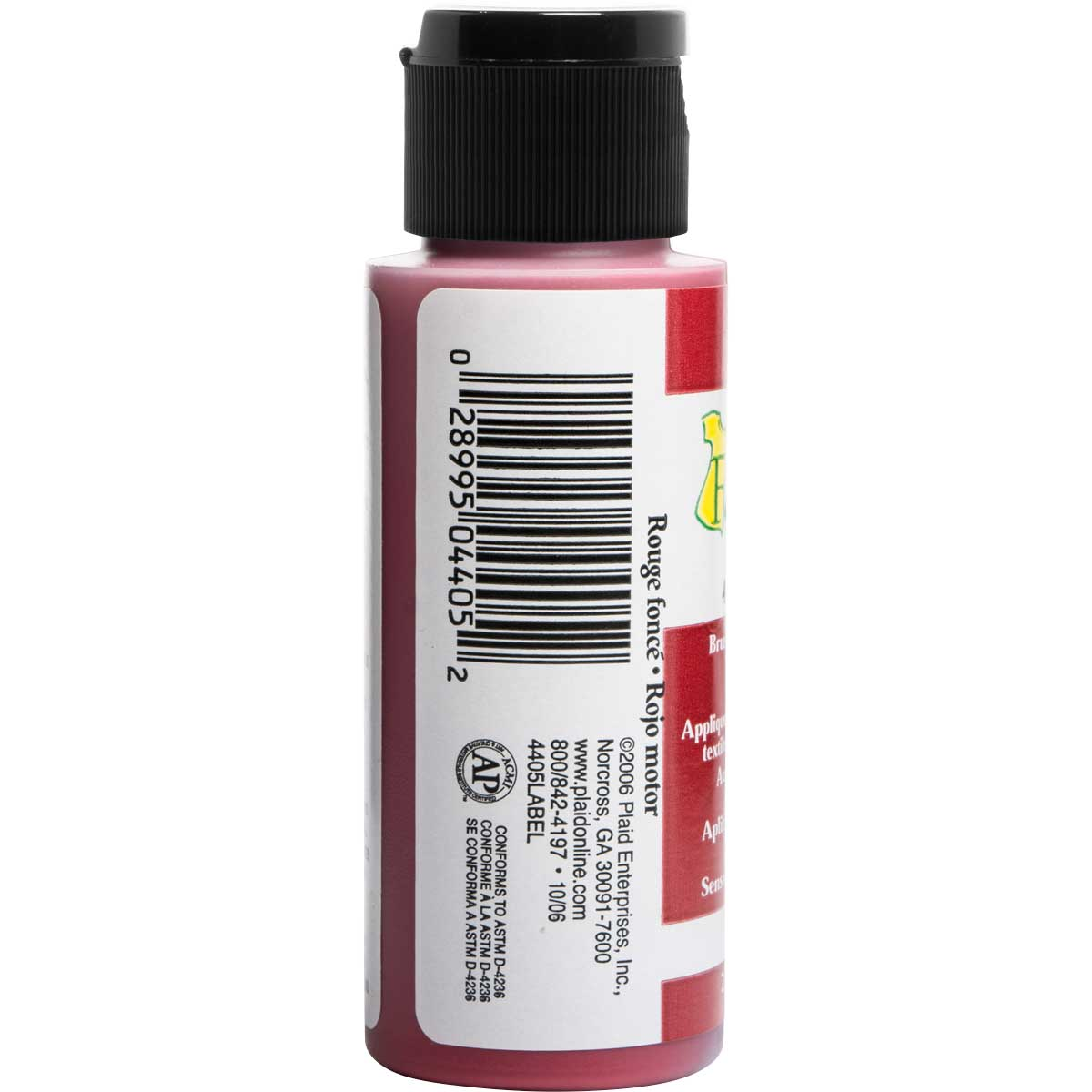 FolkArt ® Fabric™ Paint - Brush On - Engine Red