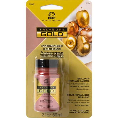 FolkArt ® Treasure Gold™- Pink Zircon, 2 oz. - 3094