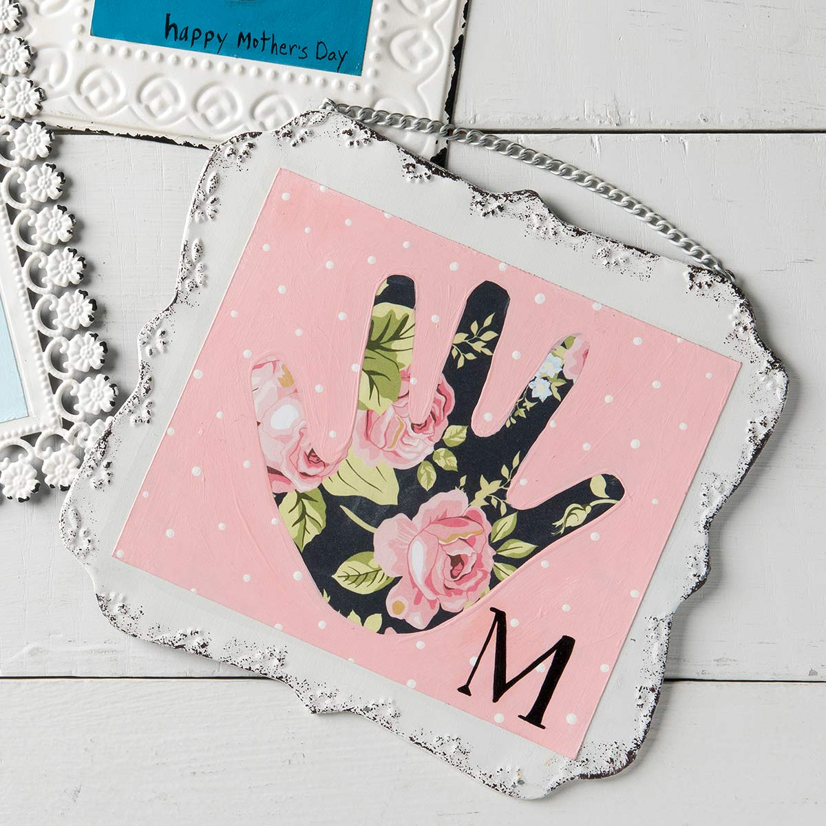Mother's Day Handprint Craft Project for Kids