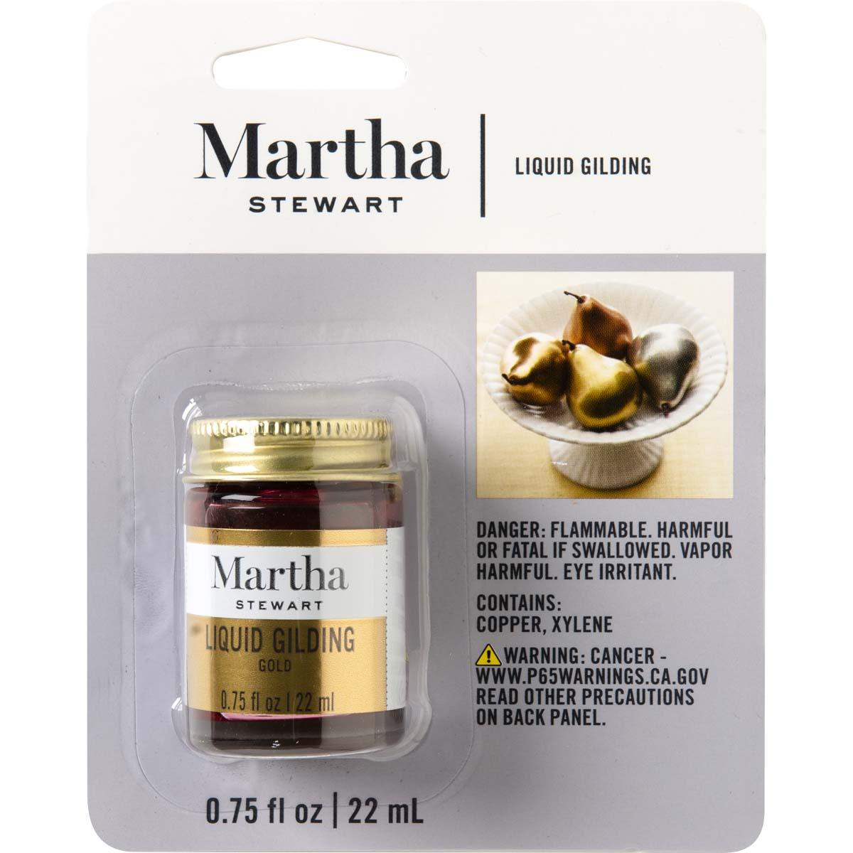 Martha Stewart ® Liquid Gilding, 3/4 oz. Gold - 32214