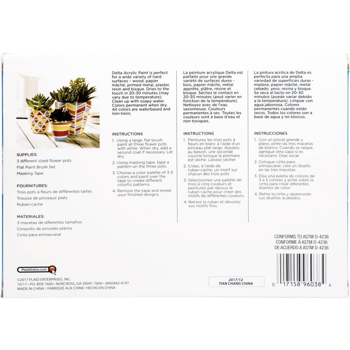 Delta Ceramcoat ® Paint Sets - Floral Garden, 18 Colors