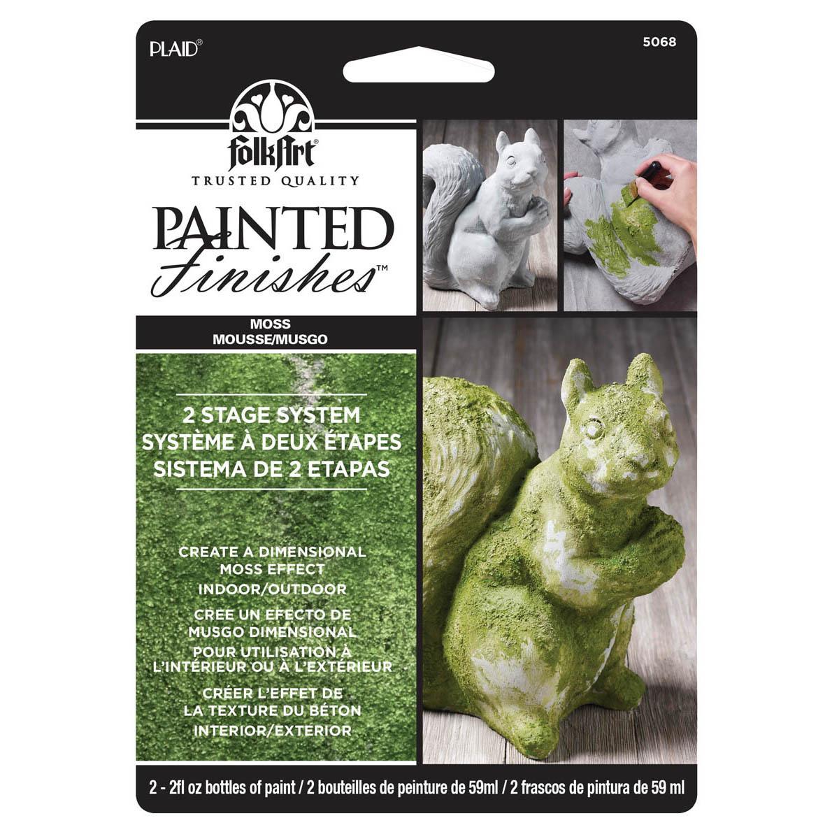 FolkArt ® Painted Finish Kit - Moss - 5068