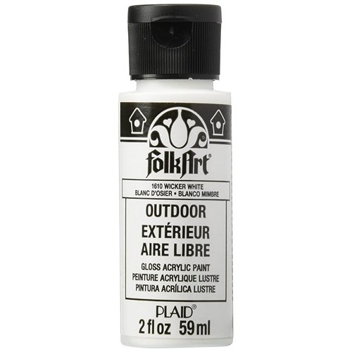 FolkArt ® Outdoor™ Acrylic Colors - Wicker White, 2 oz.
