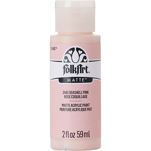 FolkArt ® Acrylic Colors - Seashell Pink, 2 oz.