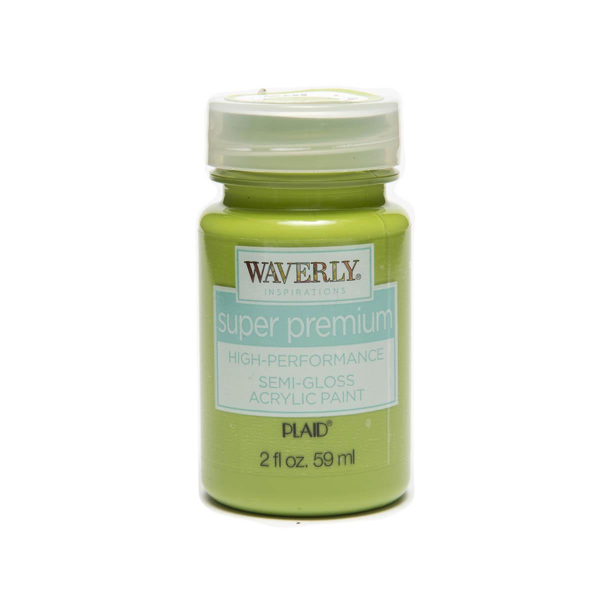 Waverly ® Inspirations Super Premium Semi-Gloss Acrylic Paint - Grass, 2 oz. - 60623E