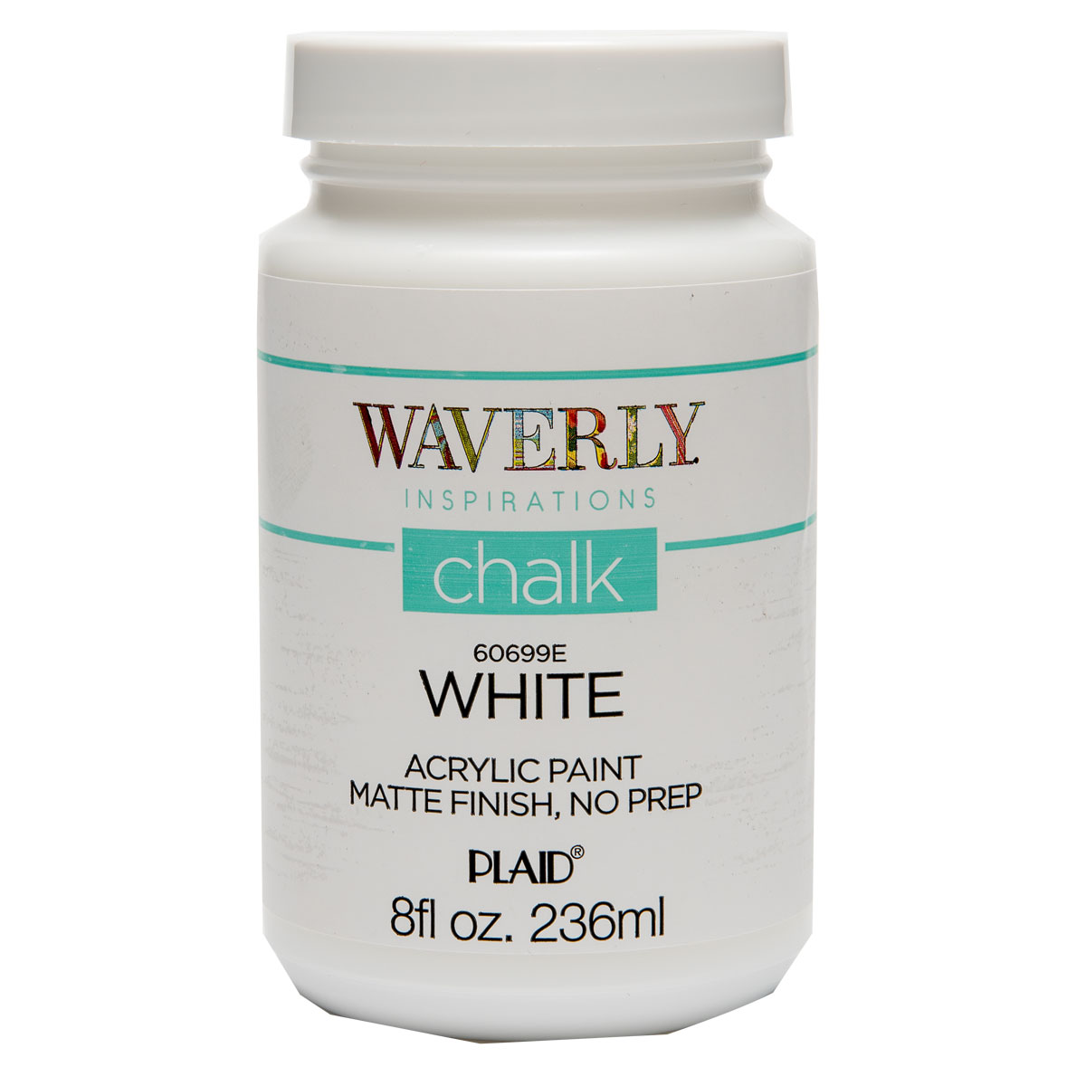 Waverly ® Inspirations Chalk Acrylic Paint - White, 8 oz.