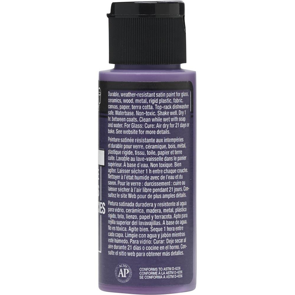 FolkArt ® Multi-Surface Satin Acrylic Paints - Violet Pansy, 2 oz. - 2956