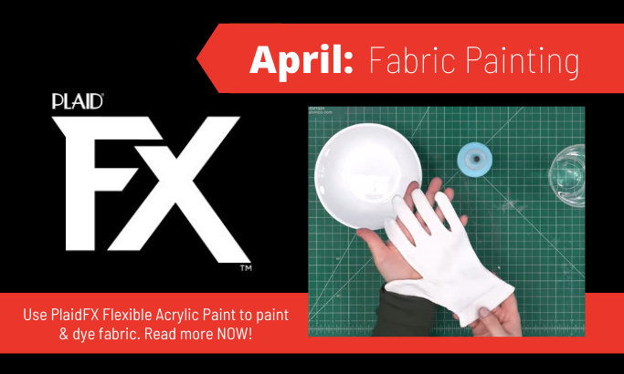 PlaidFX April 2021 - Fabric Painting
