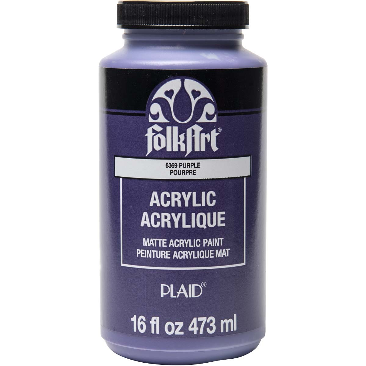 FolkArt ® Acrylic Colors - Purple, 16 oz.