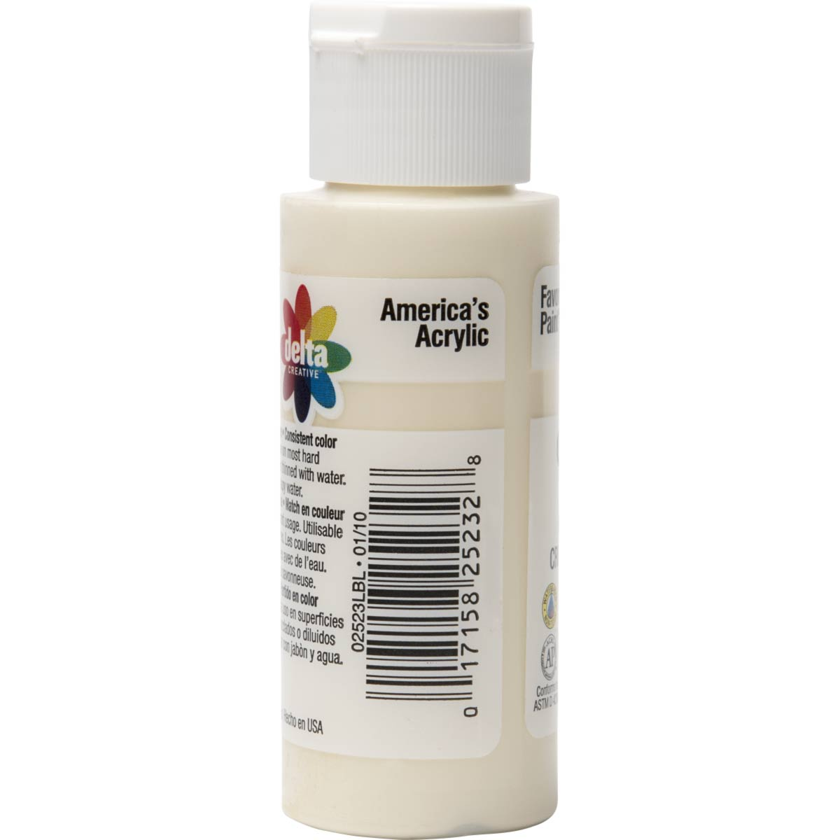 Delta Ceramcoat ® Acrylic Paint - Butter Cream, 2 oz. - 025230202W