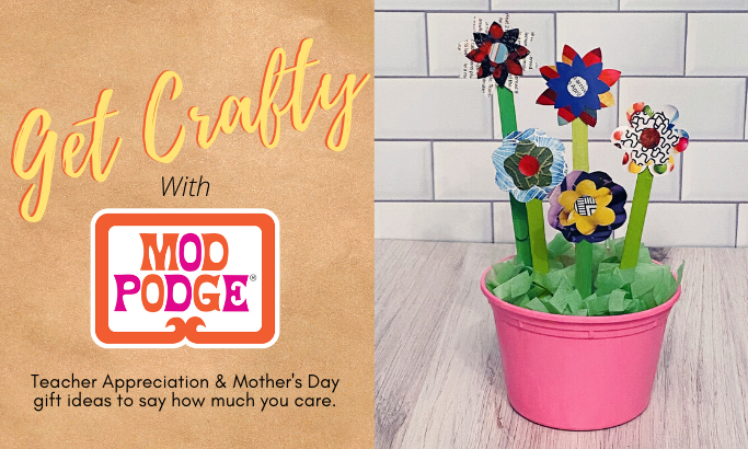 Get Crafty with Mod Podge - Part 1