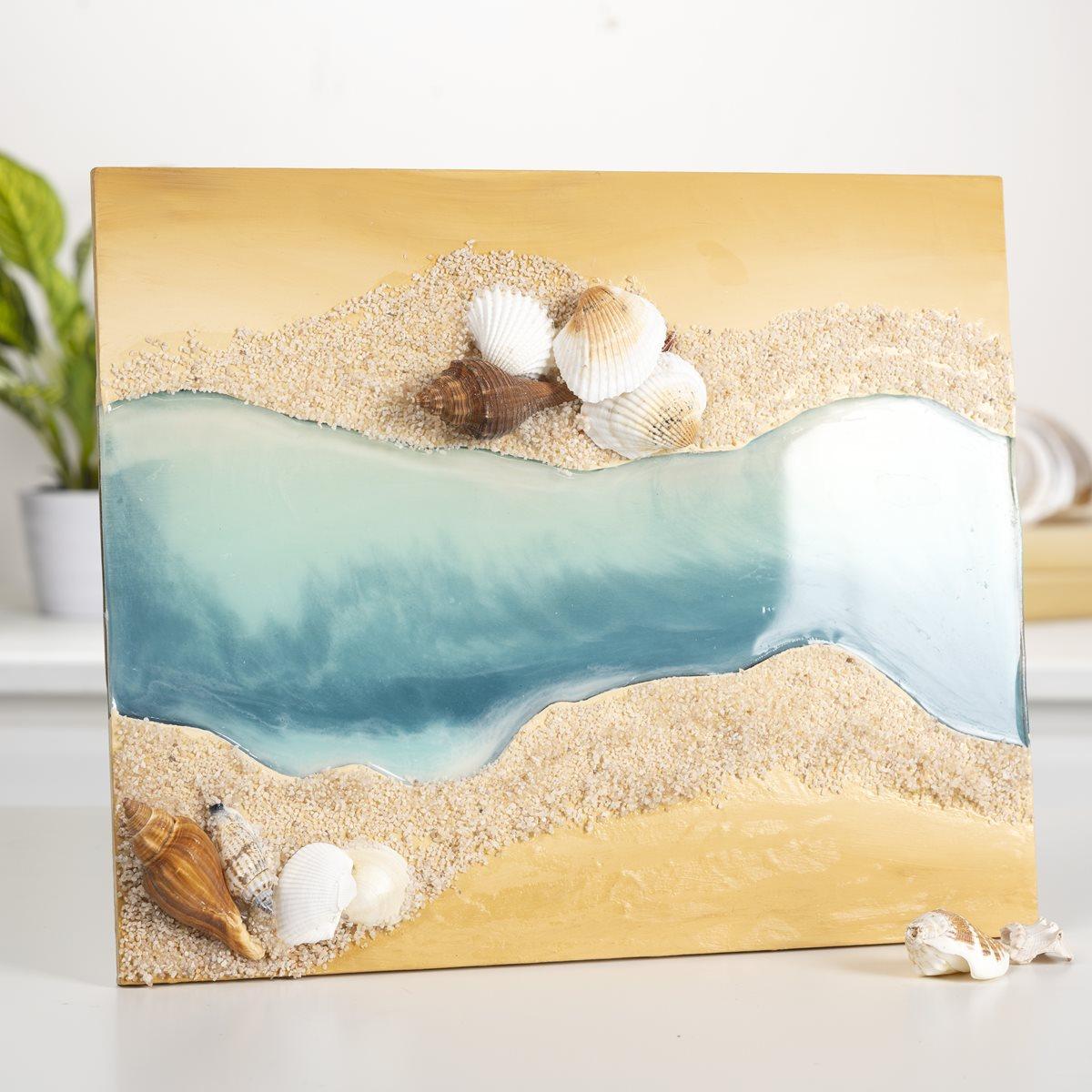Beach Resin Surface