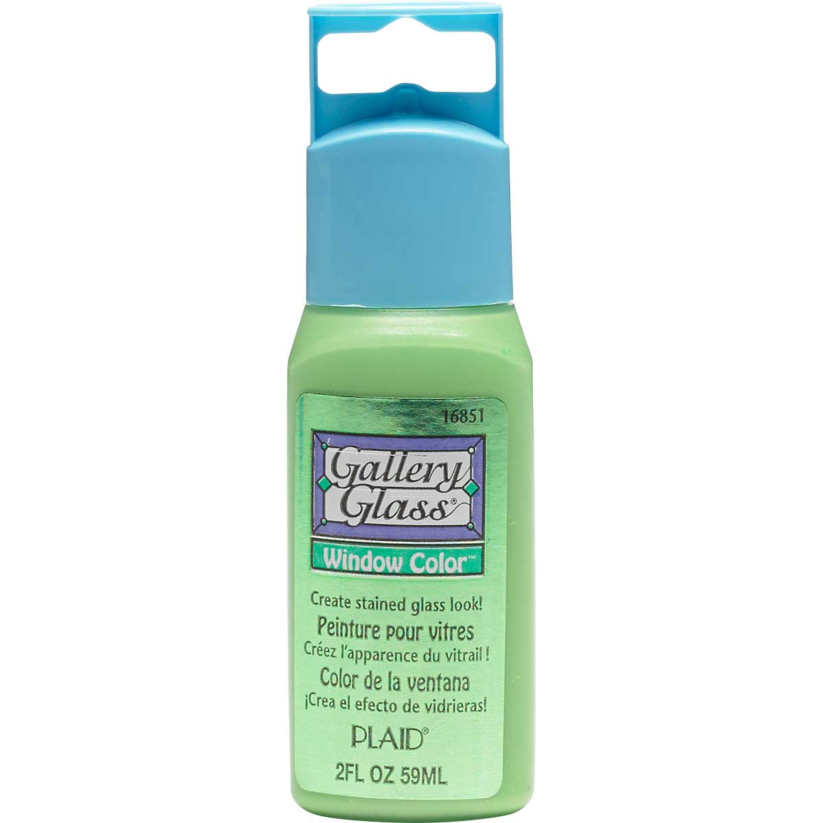 Gallery Glass ® Window Color™ - Green Shimmer, 2 oz.