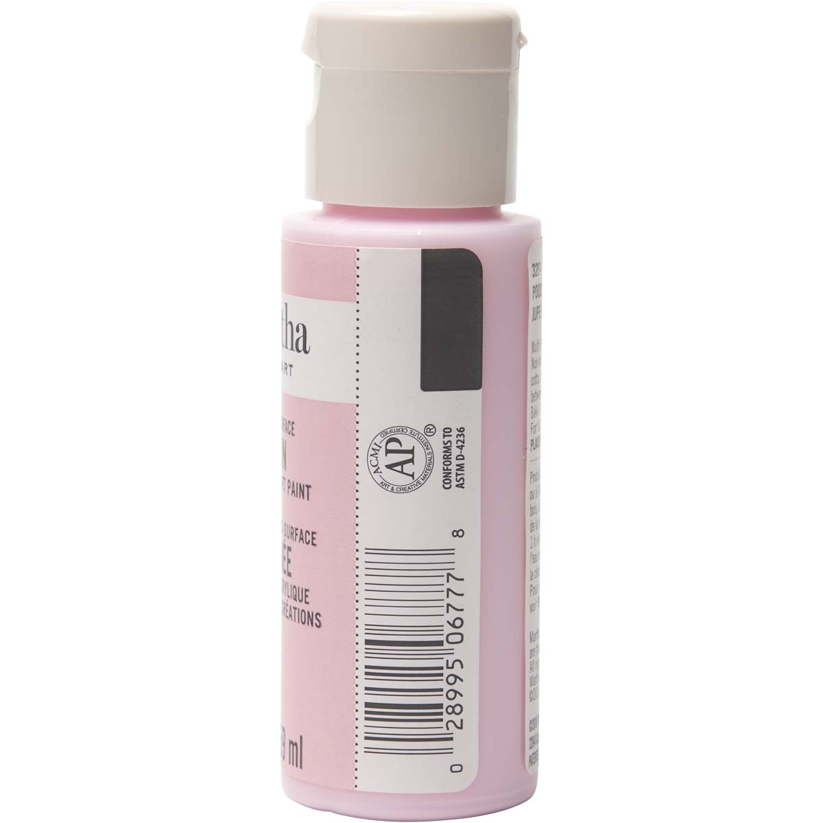 Martha Stewart ® Multi-Surface Satin Acrylic Craft Paint - Poodle Skirt, 2 oz. - 32041CA