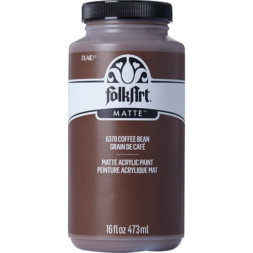 FolkArt ® Acrylic Colors - Coffee Bean, 16 oz. - 6370