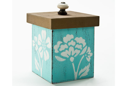 Medium Shabby Chic Box with Lid