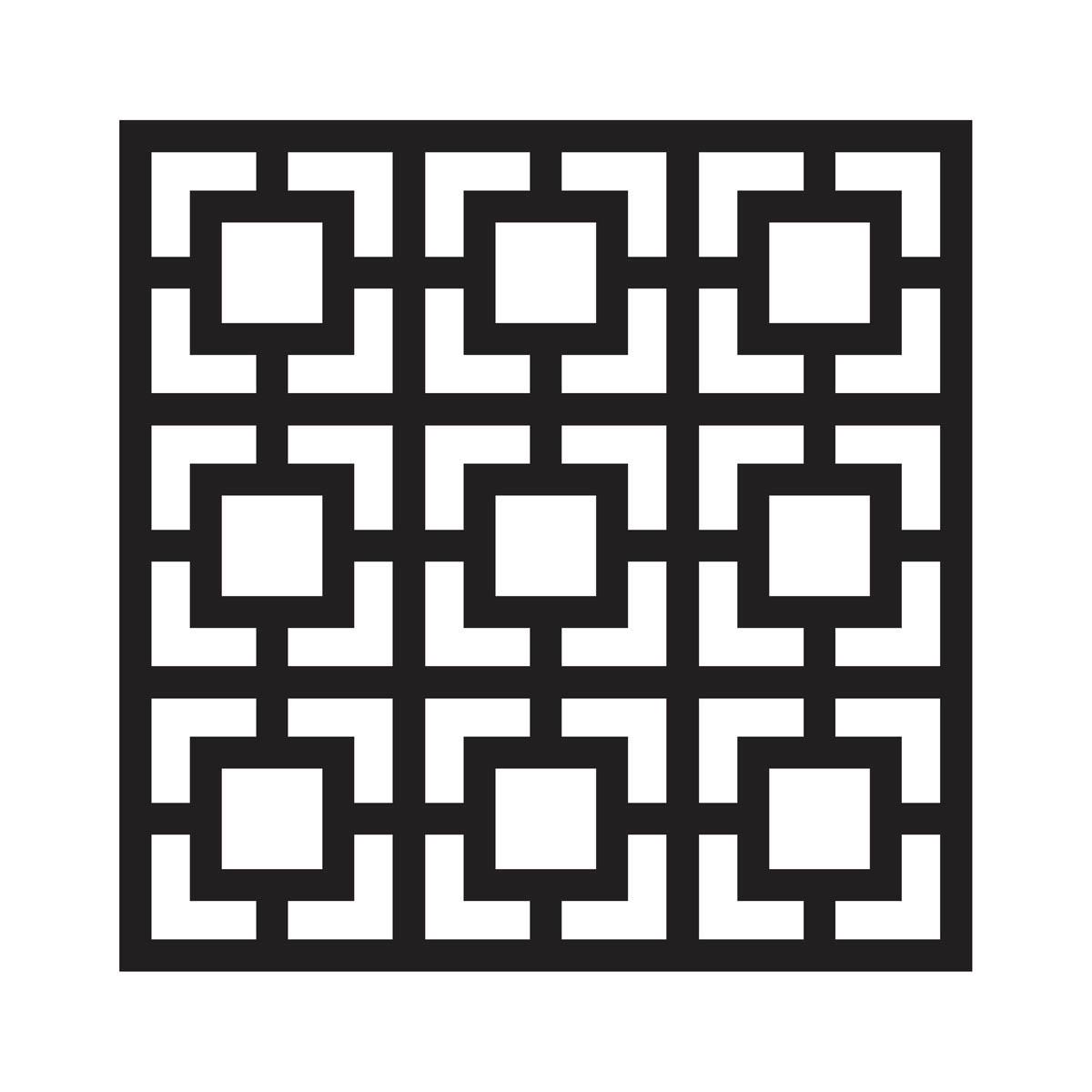 FolkArt ® Painting Stencils - Large - Square Revival - 4379