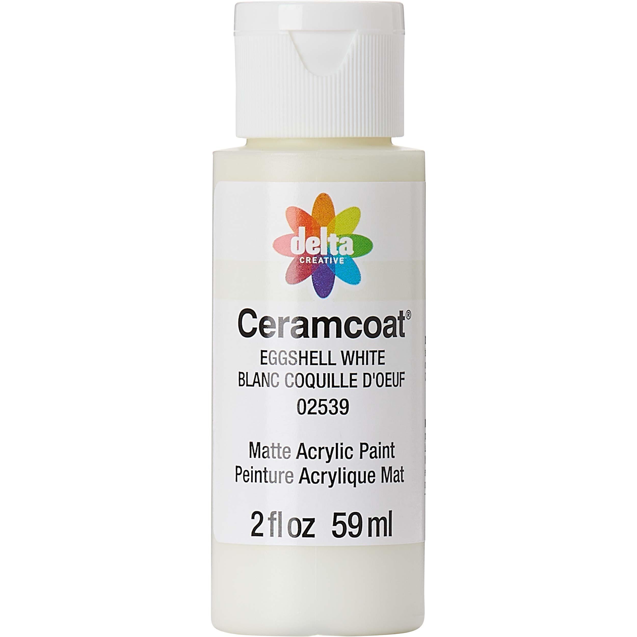 Delta Ceramcoat ® Acrylic Paint - Eggshell White, 2 oz. - 025390202W