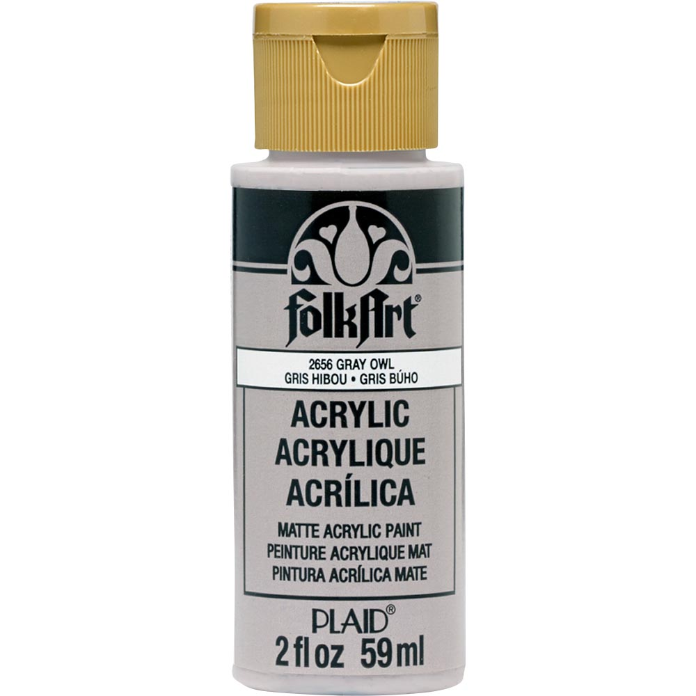 FolkArt ® Acrylic Colors - Gray Owl, 2 oz.
