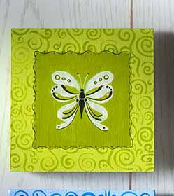 Brushstroke Butterflies