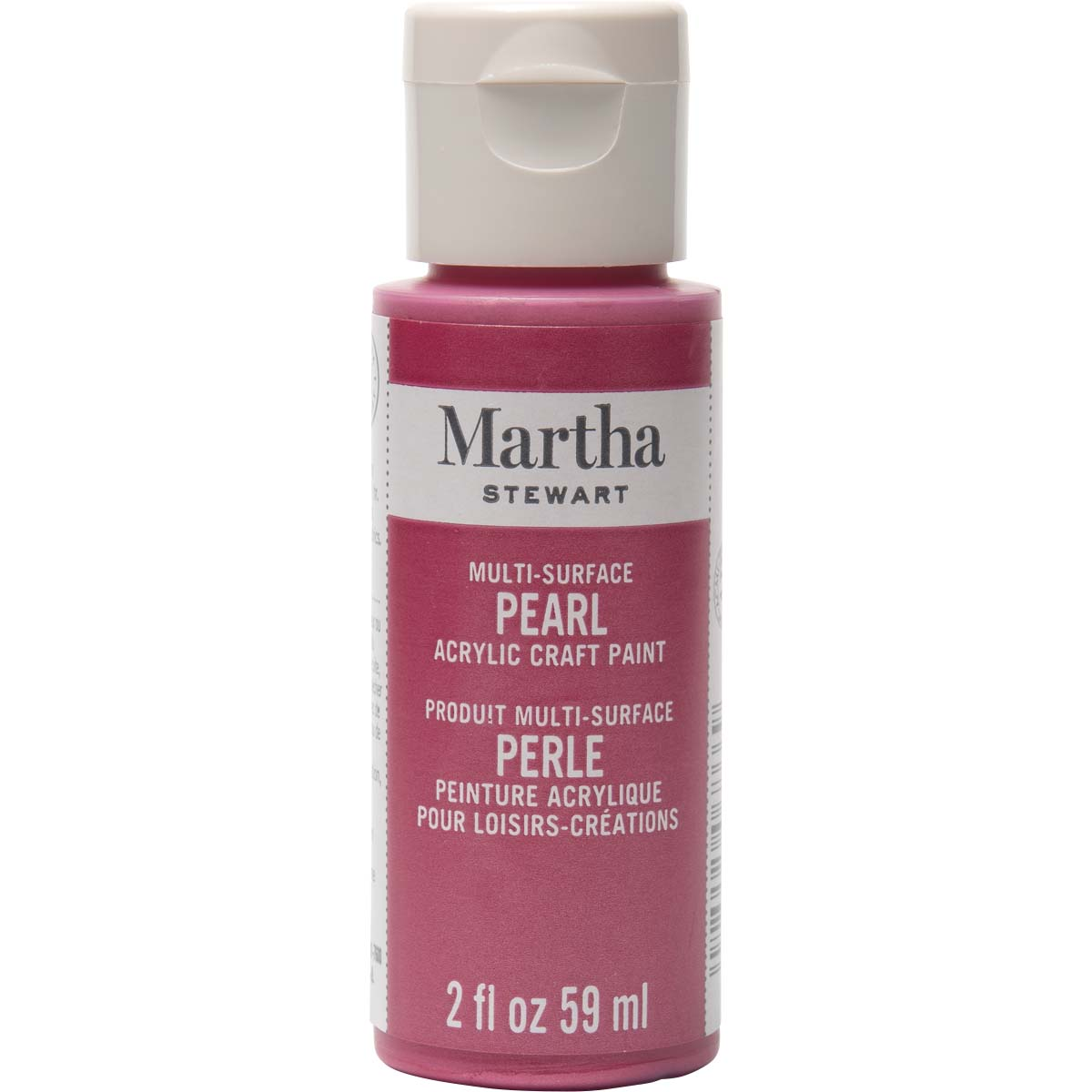 Martha Stewart ® Multi-Surface Pearl Acrylic Craft Paint - Fruit Punch, 2 oz. - 32115CA