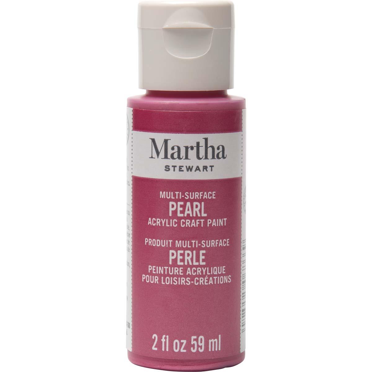 Martha Stewart® 2oz Multi-Surface Pearl Acrylic Craft Paint - Fruit Punch