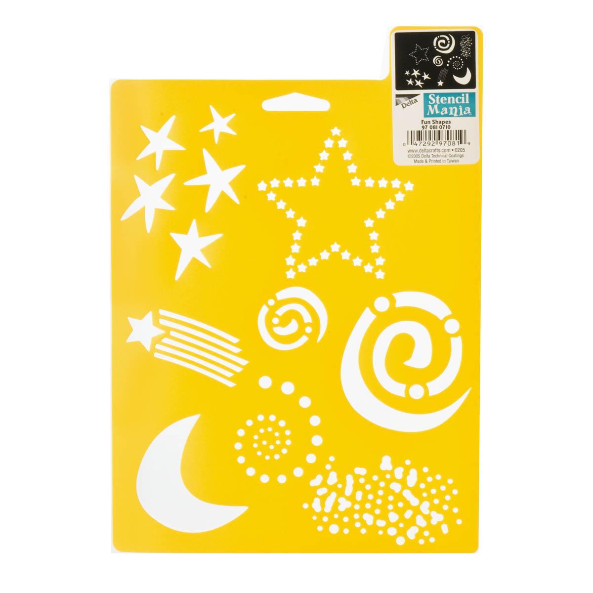 Delta Stencil Mania™ - Fun Shapes - 970810710
