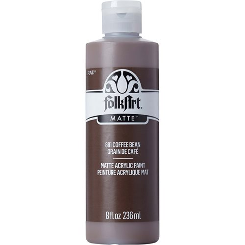 FolkArt ® Acrylic Colors - Coffee Bean, 8 oz. - 881
