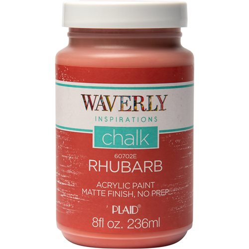 Waverly ® Inspirations Chalk Acrylic Paint - Rhubarb, 8 oz. - 60702E
