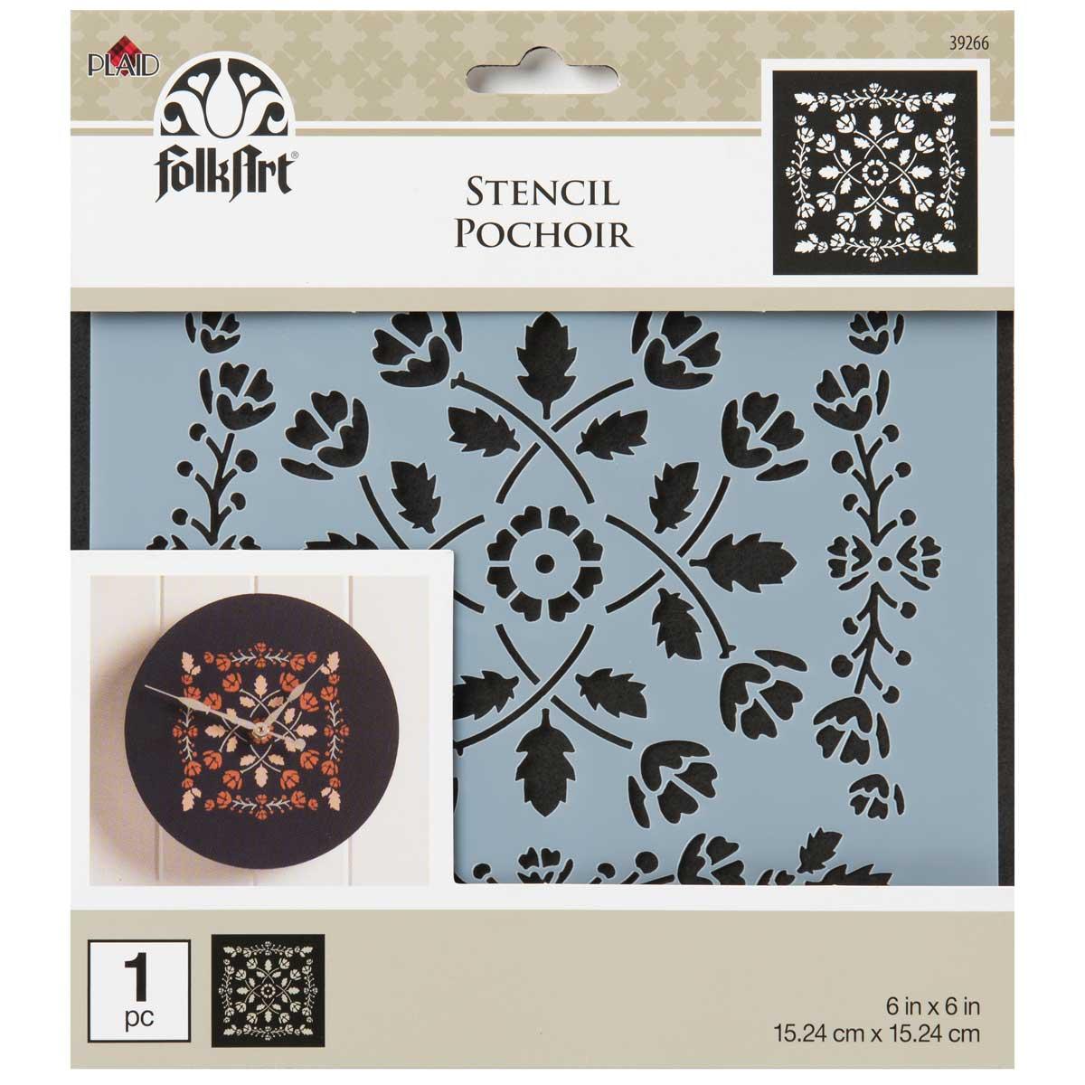 FolkArt ® Painting Stencils - Small - Folk Art - 39266