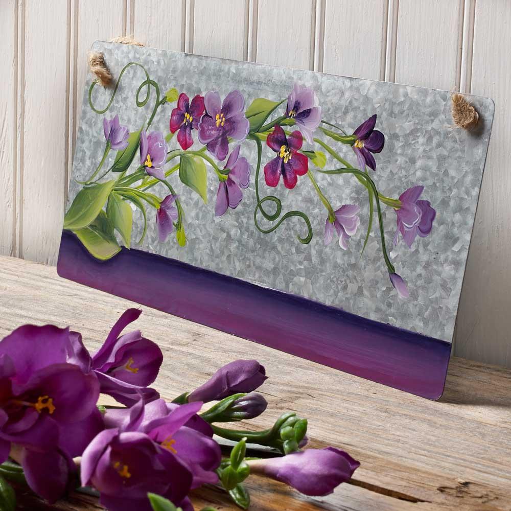 FEBRUARY: Violets