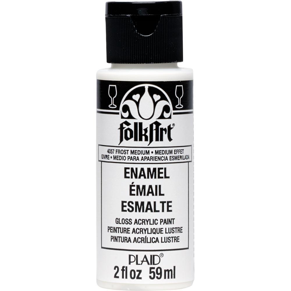 FolkArt ® Enamels™ Mediums - Frost Medium, 2 oz. - 4057