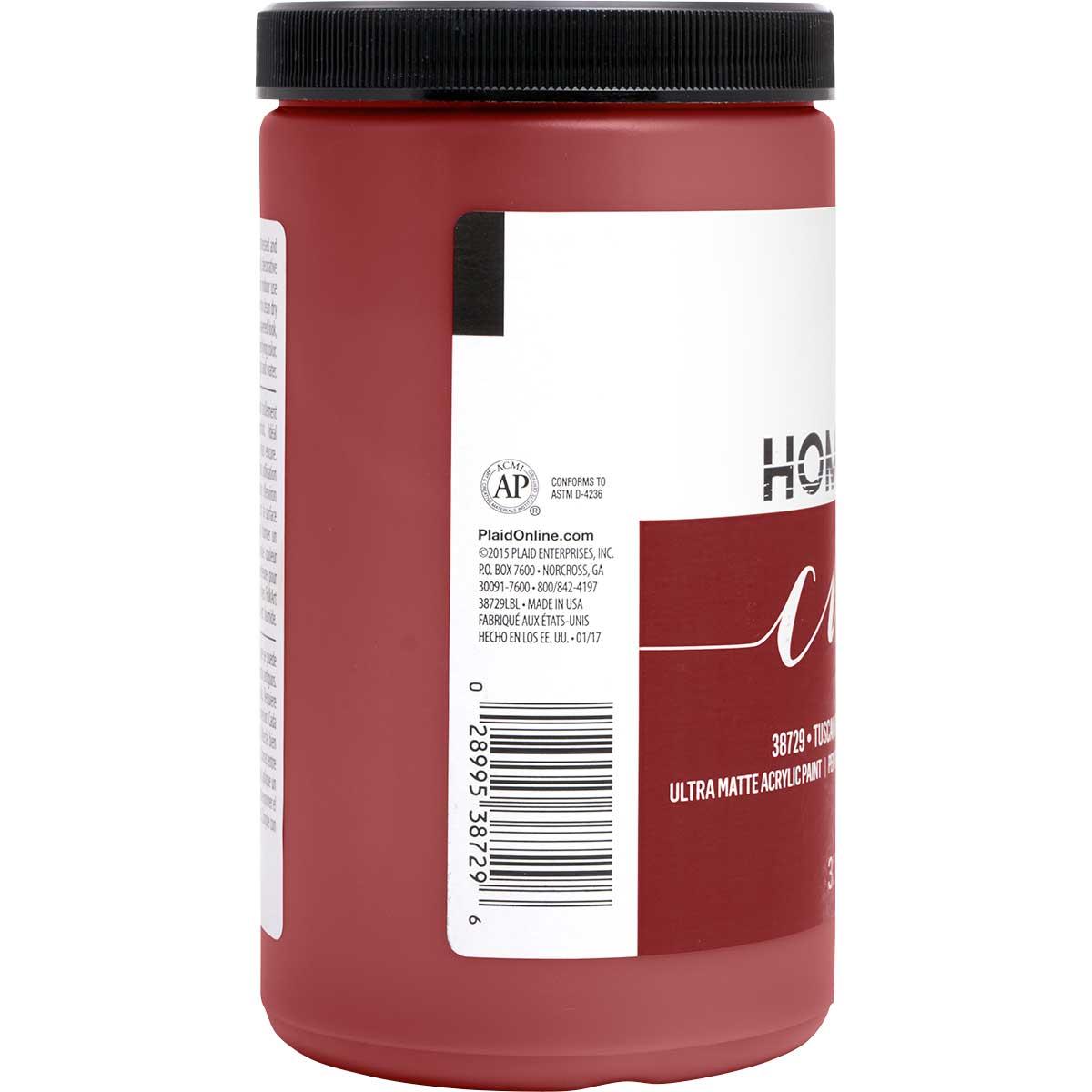 FolkArt ® Home Decor™ Chalk - Tuscan Red, 32 oz. - 38729