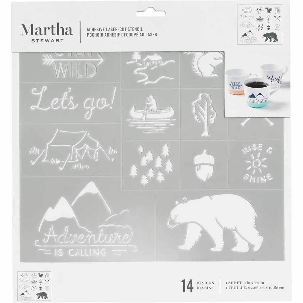 Martha Stewart ® Adhesive Stencil - Outdoor - 5692