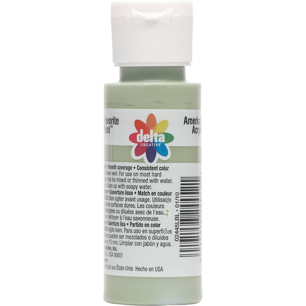 Delta Ceramcoat ® Acrylic Paint - Green Sea, 2 oz.