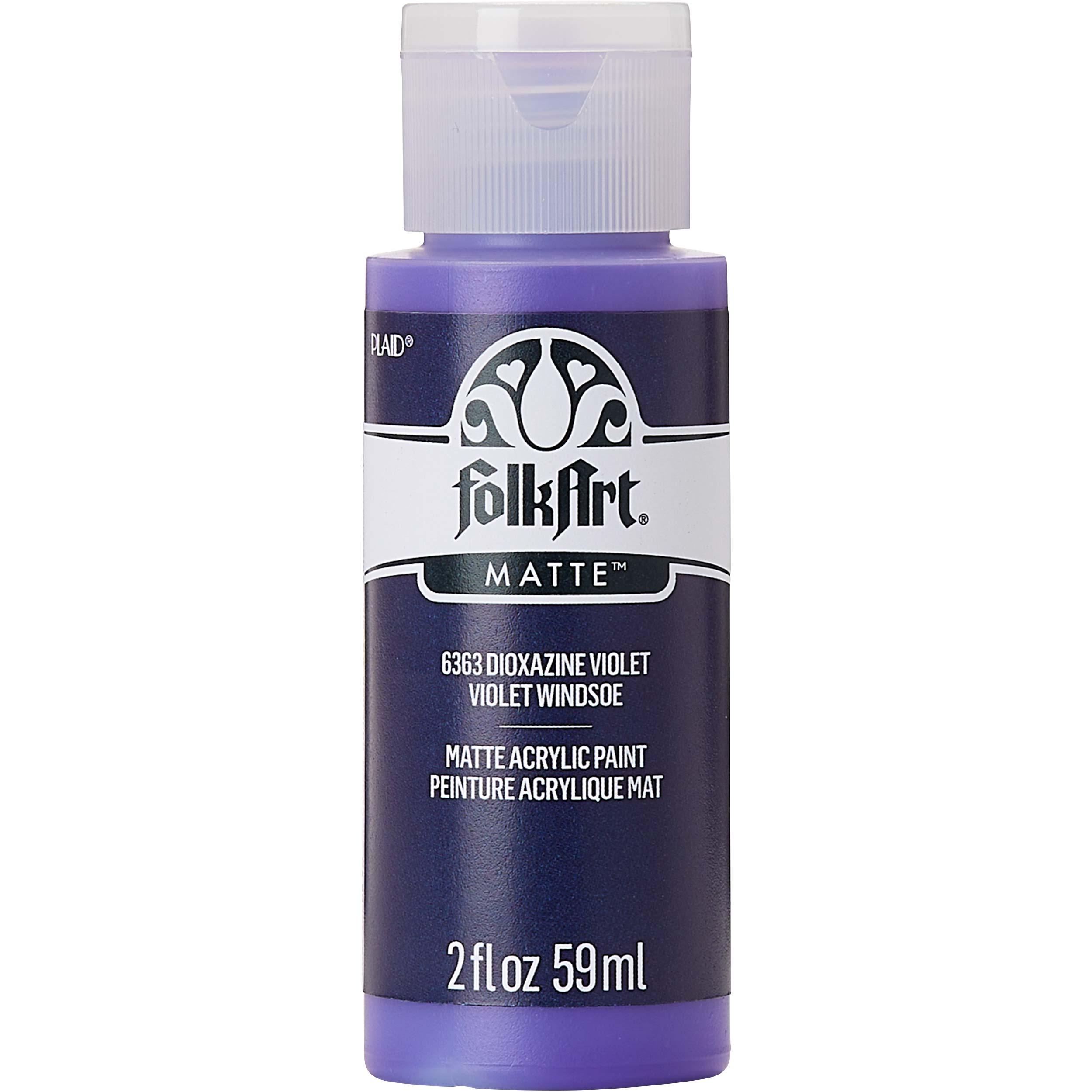 FolkArt ® Acrylic Colors - Dioxazine Violet, 2 oz.