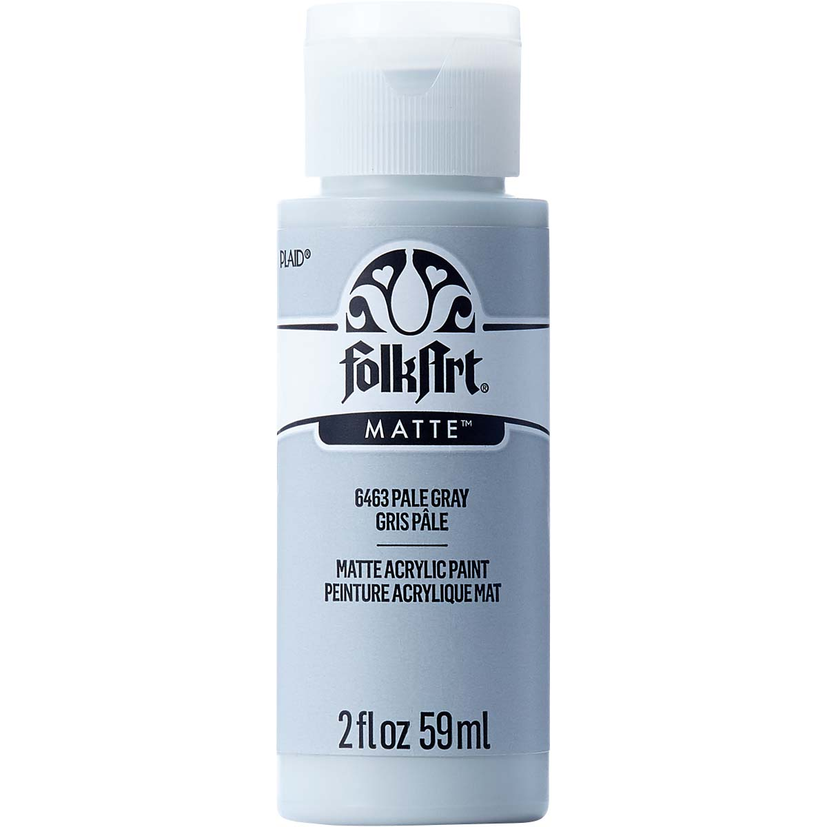 FolkArt ® Acrylic Colors - Pale Gray, 2 oz. - 6463
