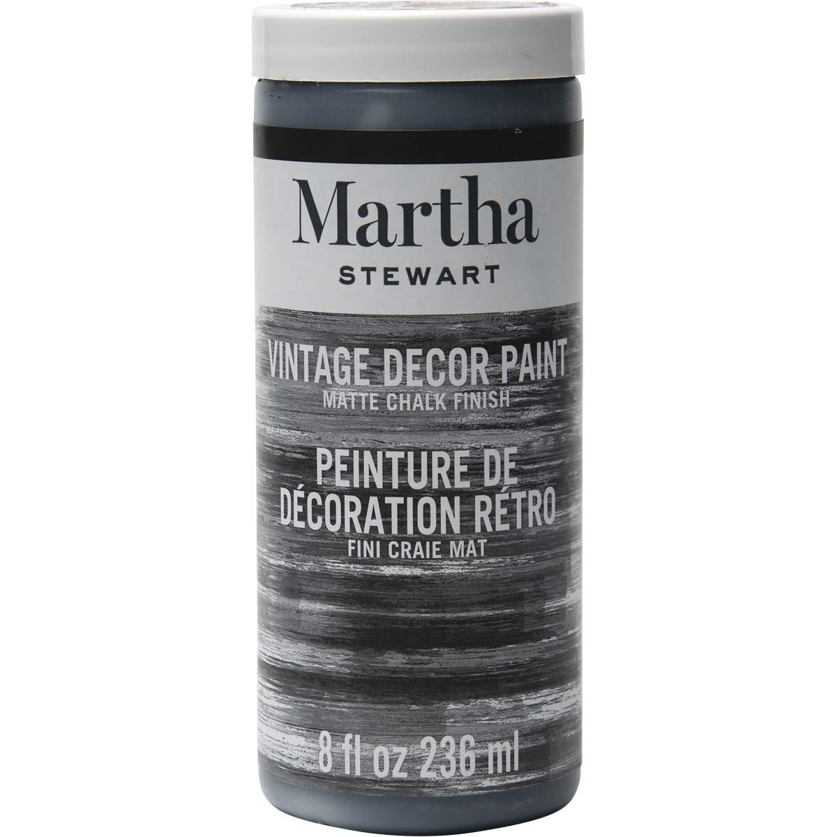 MARTHA STEWART VINTAGE PAINT 8 OZ. BEETLE BLACK