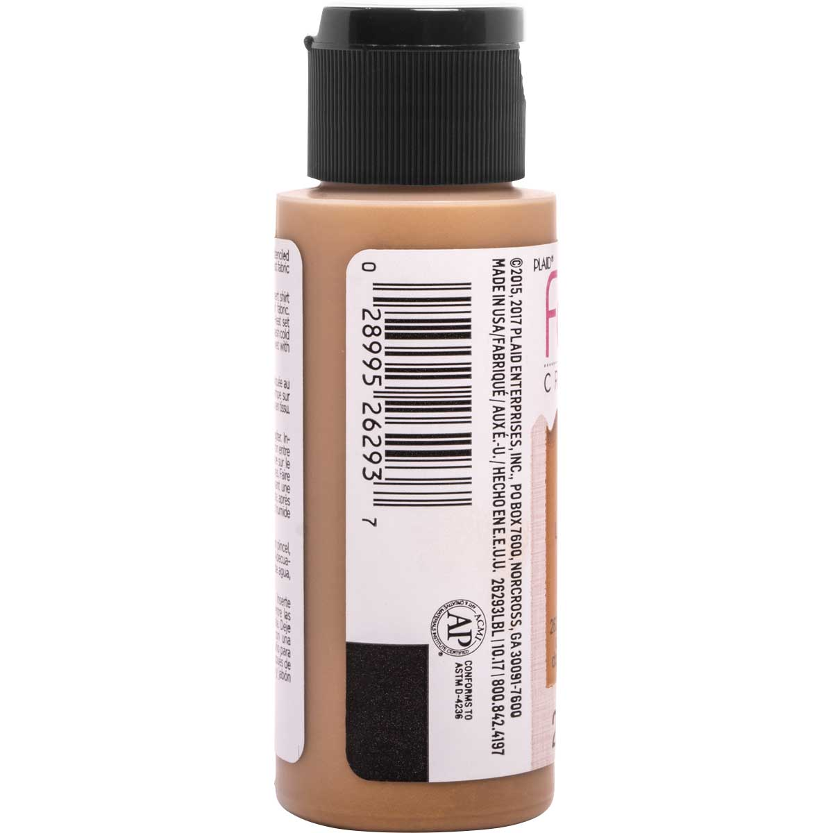Fabric Creations™ Soft Fabric Inks - Metallic Antique Gold, 2 oz. - 26293