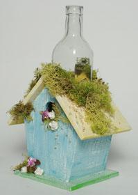 Birdhouse Vase