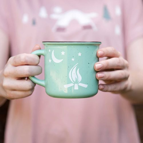 DIY Campfire Craft - Retro Mugs