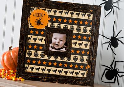 Halloween Eek Frame