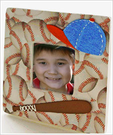 Father's Day Baseball Frame