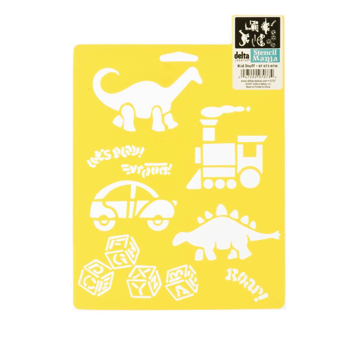 Delta Stencil Mania™ - Kid Stuff - 970730710