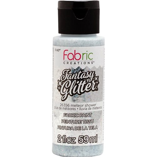 Fabric Creations™ Fantasy Glitter™ Fabric Paint - Meteor Shower, 2 oz.