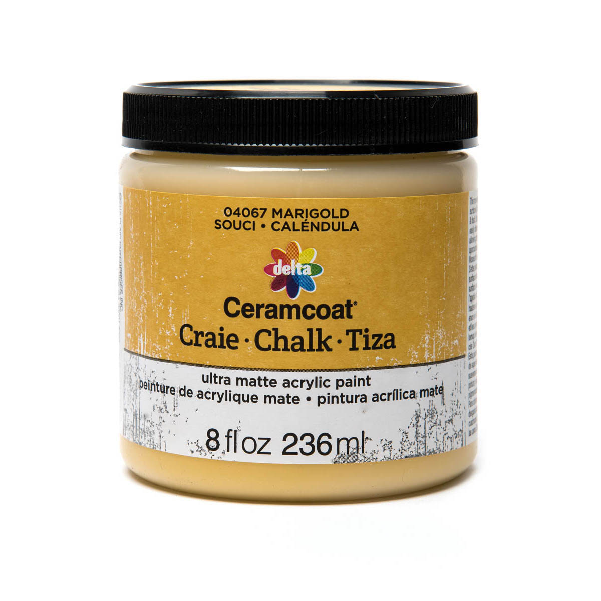 Delta Ceramcoat ® Chalk - Marigold, 8 oz.