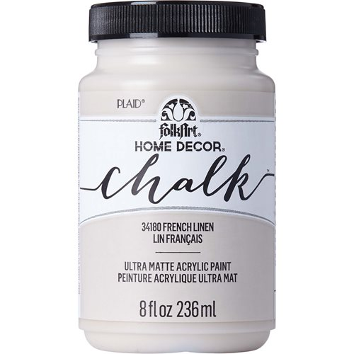 FolkArt ® Home Decor™  Chalk - French Linen, 8 oz. - 34180